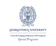 Georgetown University - Center for Language Education & Development ~ Special Programs logo