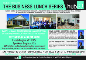 Business Lunch Series Part 1: Small business legal &...