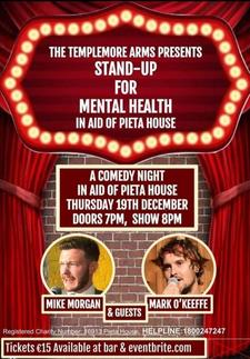 Stand-Up For Mental Health  logo