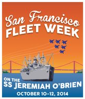 Sunday S.F. Fleet Week Cruise 2014 on the SS Jeremiah...