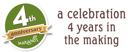 Mariano's Four Year Anniversary Celebration