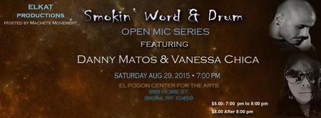 Smokin Word & Drum Open Mic