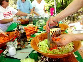 Fermentation 101 workshop, hosted by the Food Project...