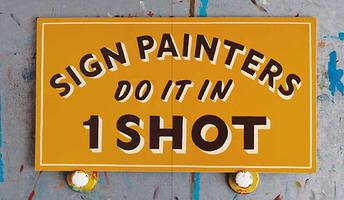 Sign Painters sponsored by Office Sign Company