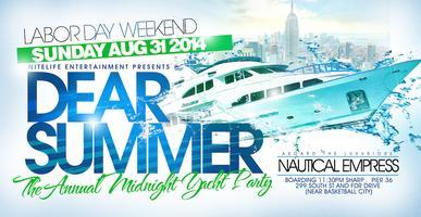 DEAR SUMMER Midnight Party Cruise