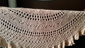 Autumn Flutters Shawlette-- Session 1of 3