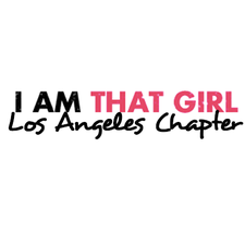 I AM THAT GIRL - LA CHAPTER logo