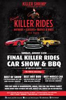 Killer Rides Car Show, Awards & Free BBQ