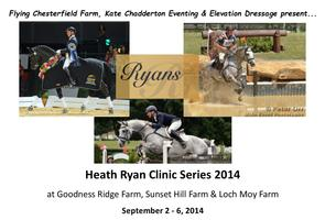 Heath Ryan Dressage and Eventing Clinic Series Sept....