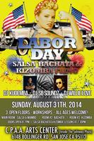 THE ANNUAL LABOR DAY SALSA BACHATA KIZOMBA FLING