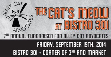 7th Annual Bistro 301 Cat's Meow Online Raffle & Wheel...