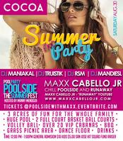 Pool Side with Maxx Cabello Jr and DJ Maniakal,