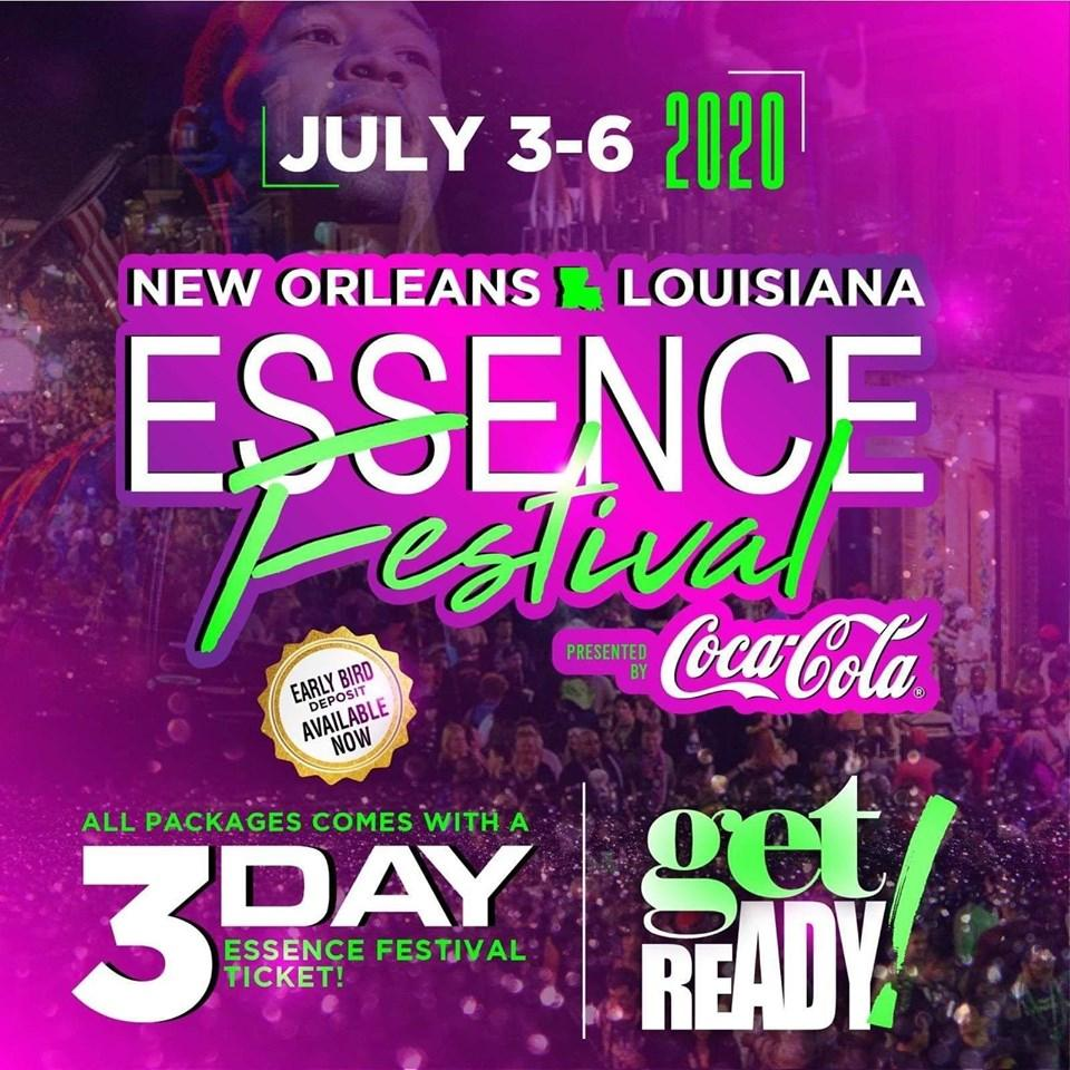 *** Early Bird Dep. Only $75pp *** The 26TH Annual Essence Music Festival
