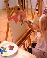 KP11 Kids Painting  Class / 5 weeks