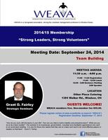 WEAVA Membership Meeting - Team Building