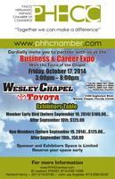 2014 PHHCC Business and Career Expo