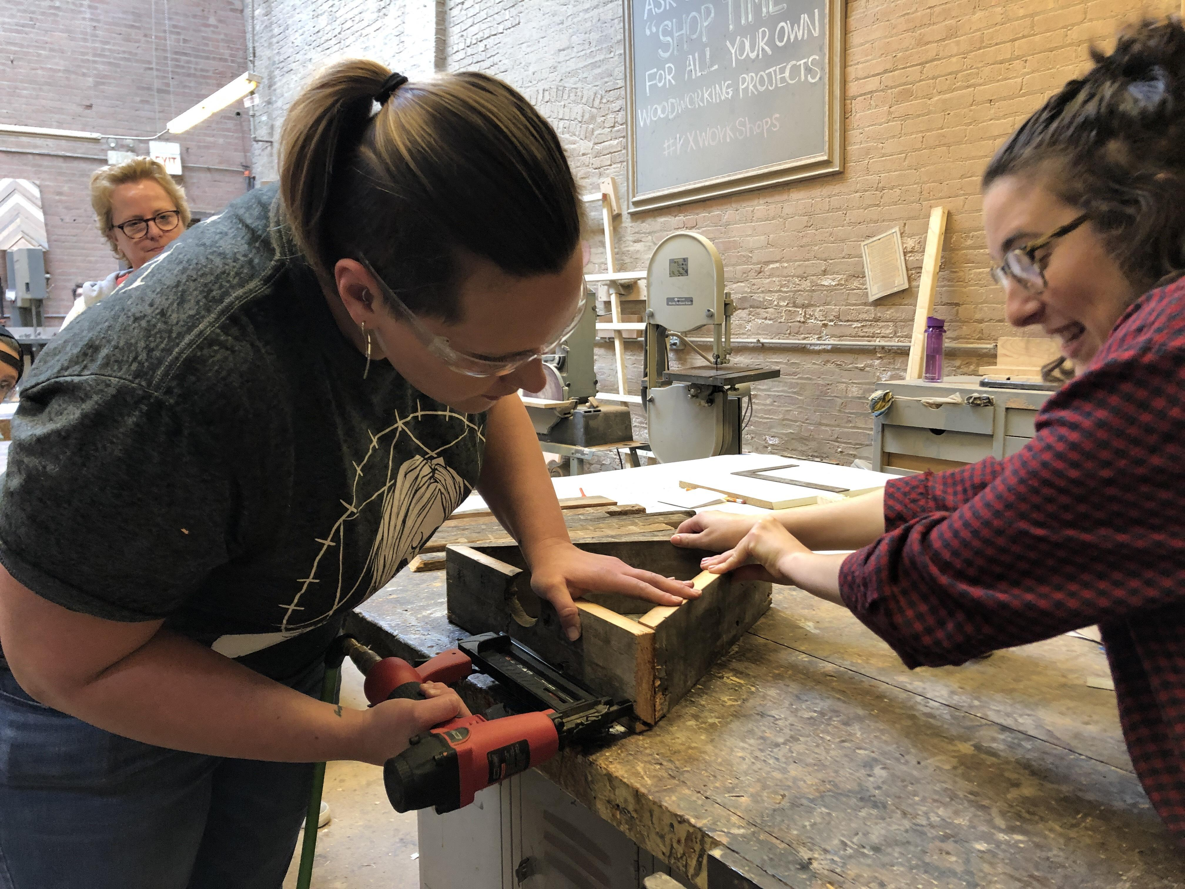 Dykes With Drills In Chicago An Introduction To Tools Workshop 7 Mar 2020