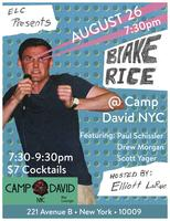 ELC Presents...Blake Rice's Stand Up Comedy Show at...