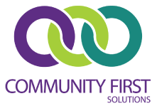 Community First Solutions logo