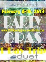 Mardi Gras Party Gras Party Bus