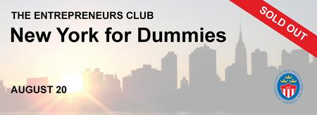 The Entrepreneurs Club: New York for Dummies