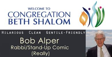 An Evening of Comedy with Rabbi Bob Alper