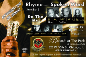 Rhyme.......Spoken Word / Series Part 2