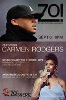Zo! featuring Carmen Rodgers ...Studio Campfire...