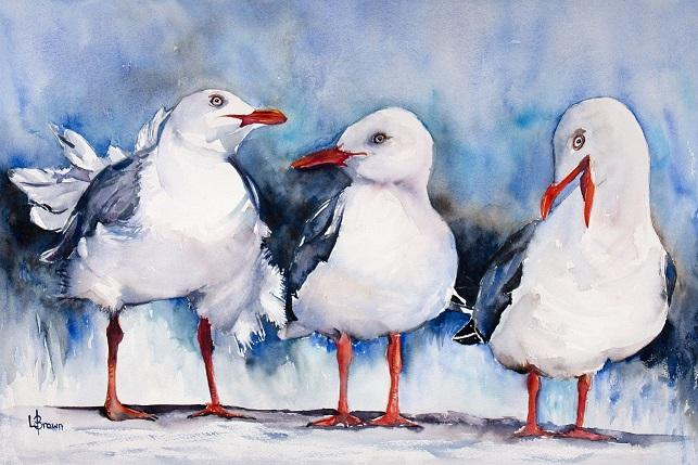 Twilight Watercolour Art Classes with Lorraine Brown