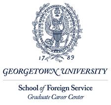 Edmund A. Walsh School of Foreign Service, Graduate Career Center logo