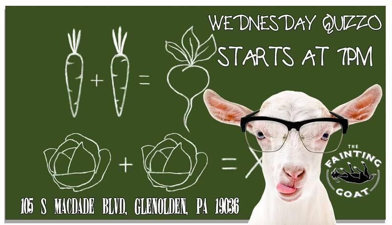 Wednesday Trivia Night at The Fainting Goat (Delaware County, PA)