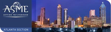ASME Atlanta Section 2014-15 Meeting on Monday, Sep....