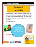 Career Workshop: Online Job Searching