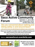 Saco Active Community Forum