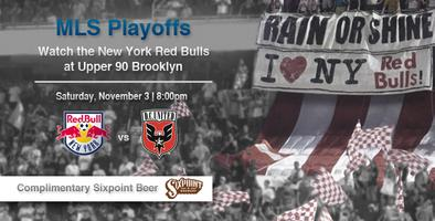 Playoffs: New York Red Bulls v DC United
