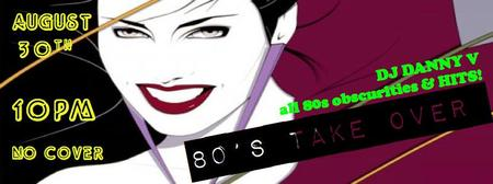 80's takeover at Bar One NoHo!~