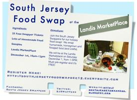 South Jersey December Food Swap