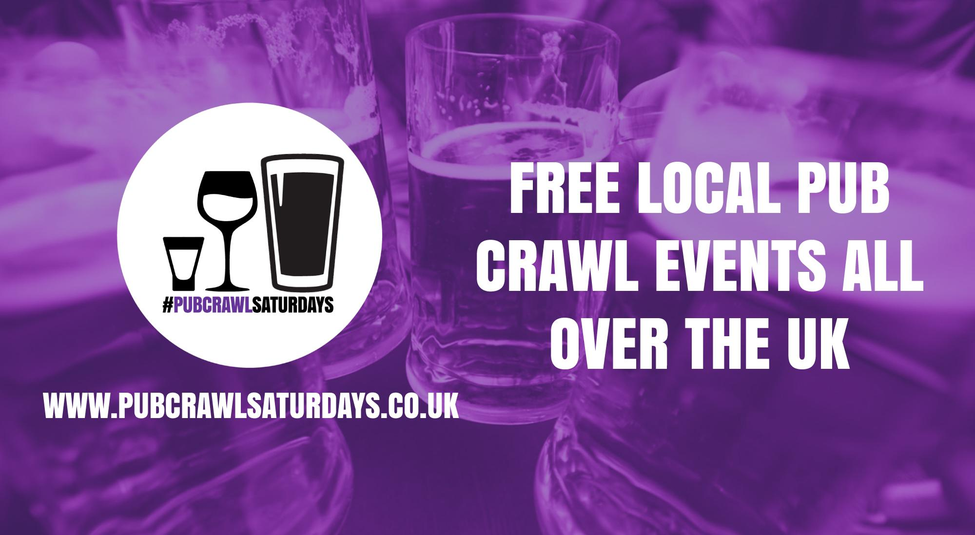 PUB CRAWL SATURDAYS! Free weekly pub crawl event in Rugby