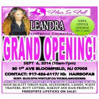 HAIRSOFAB GRAND OPENING/ FREE SPIRITZ POP-UP SHOP