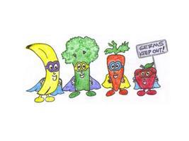 Kids Fruit and Veggies Class