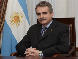 Argentinian Minister of Defense Agustin Rossi