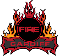 Cardiff Fire Ice Hockey Club logo