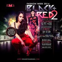 "Sat. Sept. 6th Social SaturDAZE Fashion Week'14 ""Red &..."