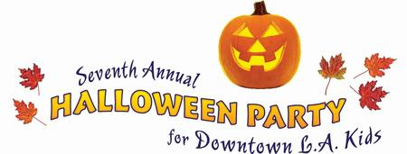7th Annual Halloween Party for Downtown LA Kids - Rain...