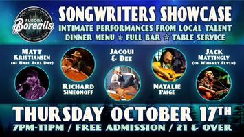 Songwwriters Showcase: Intimate performances from...