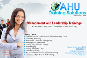 Management and Leadership Training