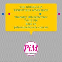 The Kombucha Essentials Workshop