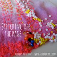 Stitching off the Page