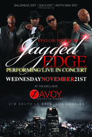 "UP CLOSE TOUR with ""JAGGED EDGE"" LIVE IN CONCERT"