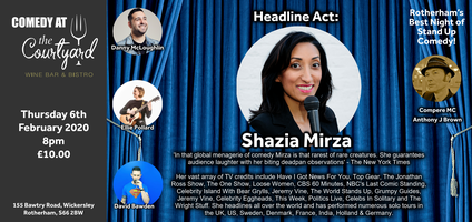 Best Stand Up Comedians 2020.Comedy Night With Shazia Mirza
